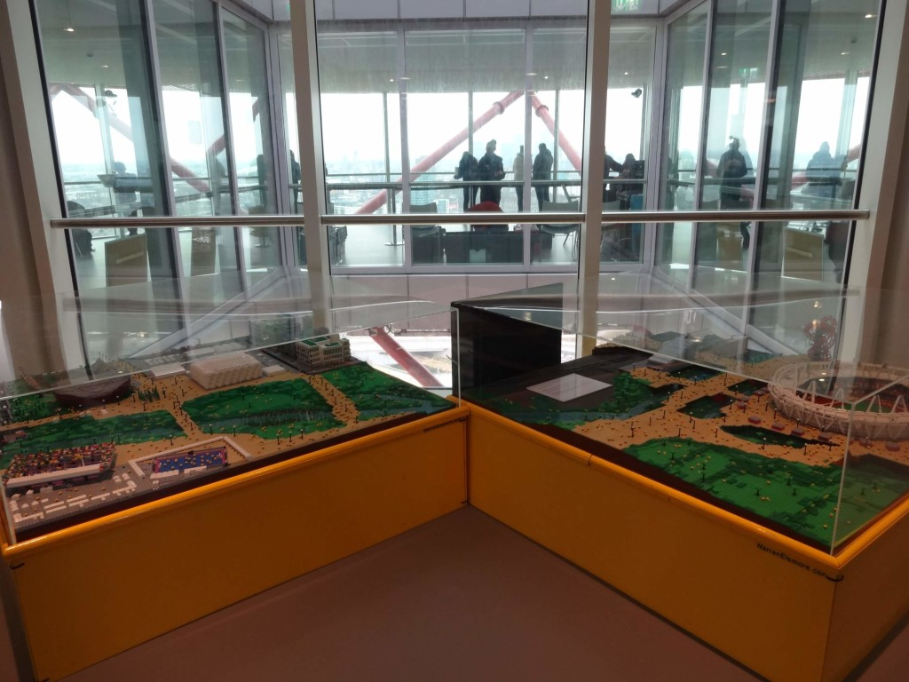 Warren Elsmore's stunning scaled model of the London 2012 Olympic Park