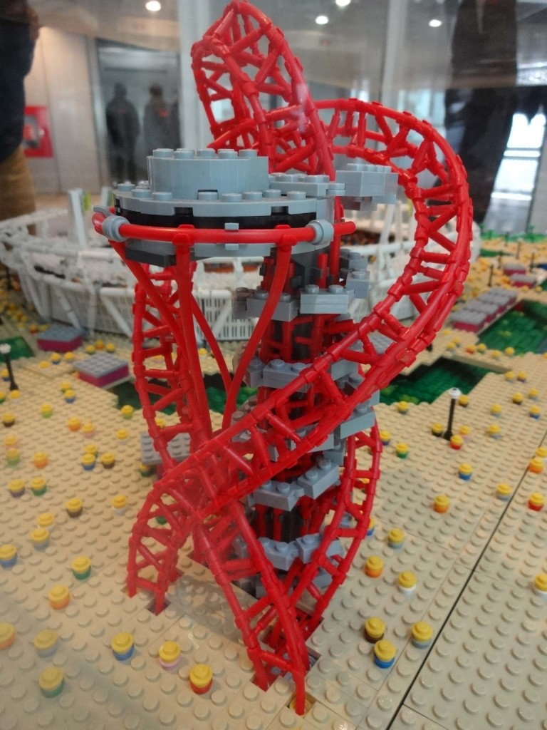 And of course any model of the Olympic Park wouldn't be complete without the ArcelorMittal Orbit