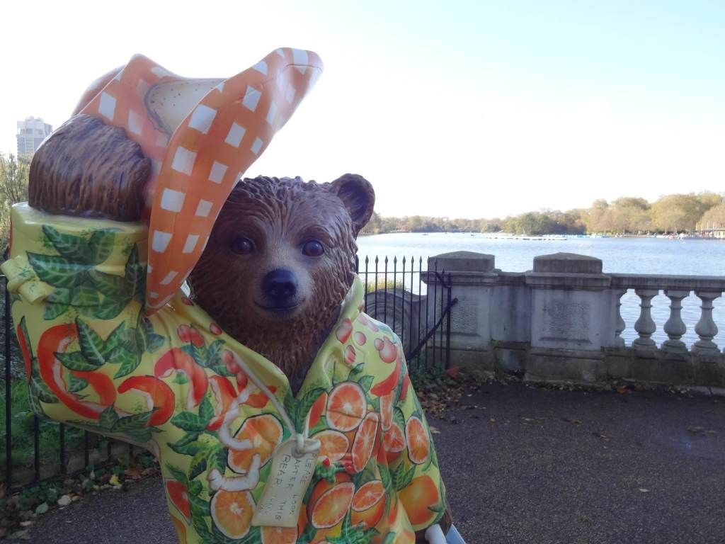 By actor Hugh Bonneville, star of Agatha Christie's Marple-lade, Burke & Bear and of course Downton Ab-bear (sorry)