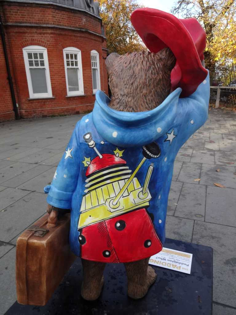 Quick, run Paddington Who! There's a dalek on your back ... literally!