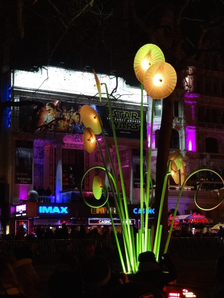Day of the Triffids premiering in Leicester Square