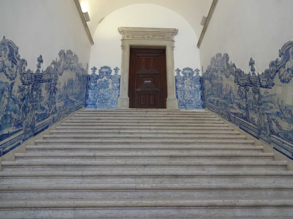 The art form is originally Arabic and was introduced to Portugal by King Manuel I after seeing azulejos during a visit to Seville in the sixteenth century. Portugal still adopts and celebrates the style today as their own, and as a result azulejos are now more commonly associated with the Portuguese