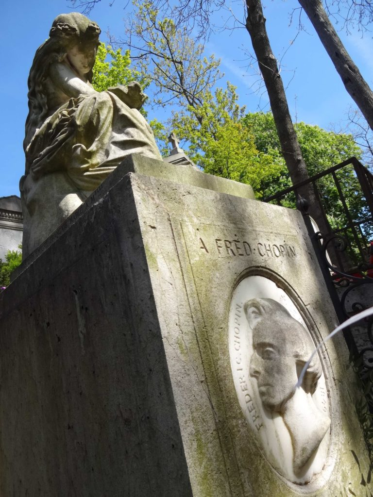 Admittedly, I only stayed for a minute at Frédéric Chopin's grave
