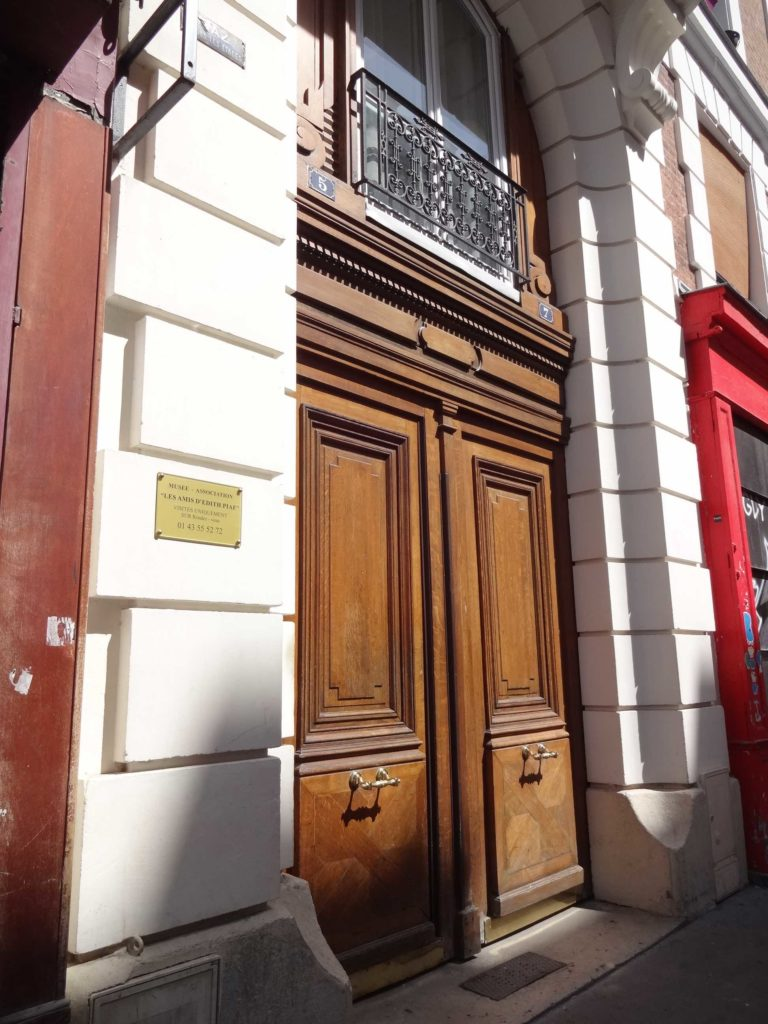 Mon dieu! This is where Edith Piaf once lived. Now home to a museum dedicated to her life