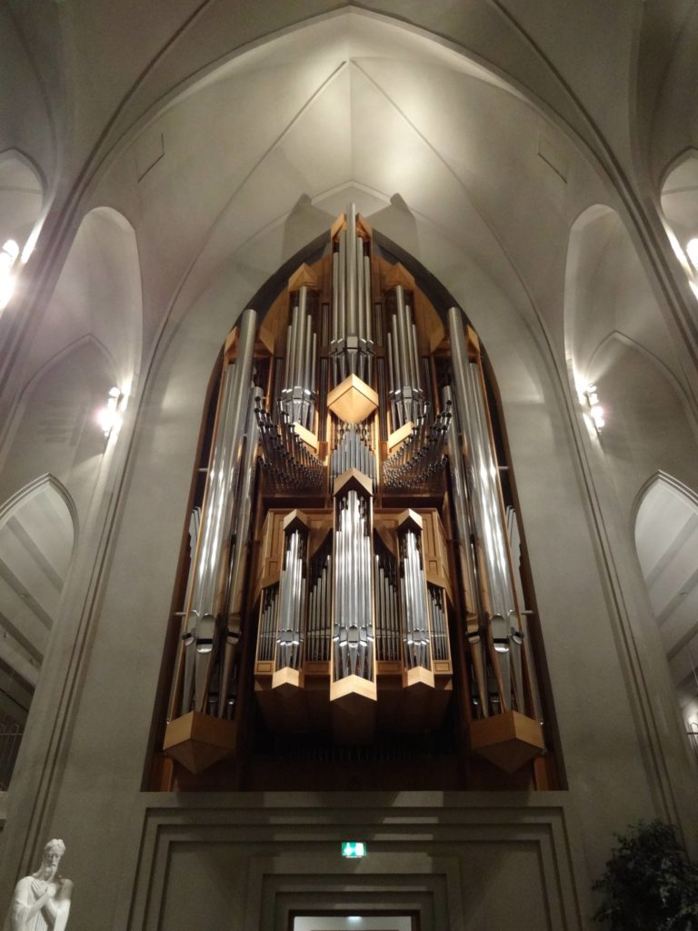 The organ is made up of over 5,000 pipes. In 2015, visitors could actually 'purchase' individual pipes from the church's gift shop. Their patronage goes towards the upkeep of the instrument. In return, they receive a pipe deed certifying their ownership of their pipe... but obviously they can't take their pipe home with them
