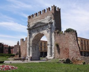 The mighty Arch of Augustus