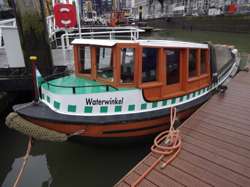 What a fabulous name for a boat! (and what a cutie she is too)