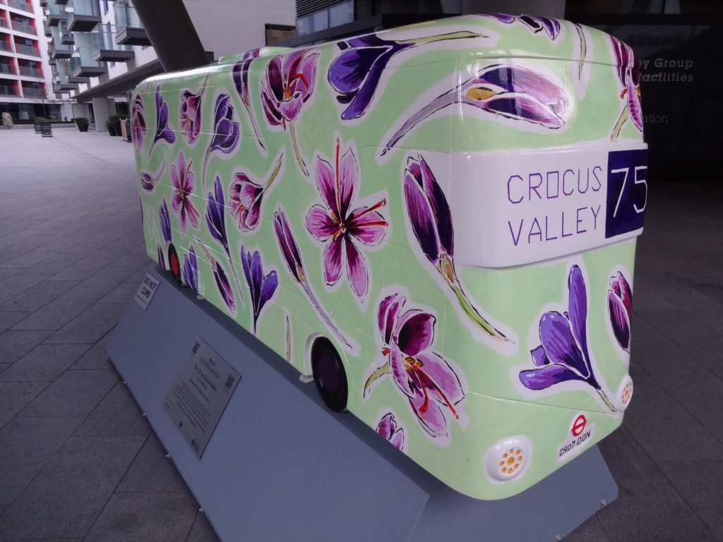 """The name 'Croydon' is believed to derive from the Anglo-Saxon words for 'Crocus' (""""croh"""") and 'Valley' (""""denu"""")"""