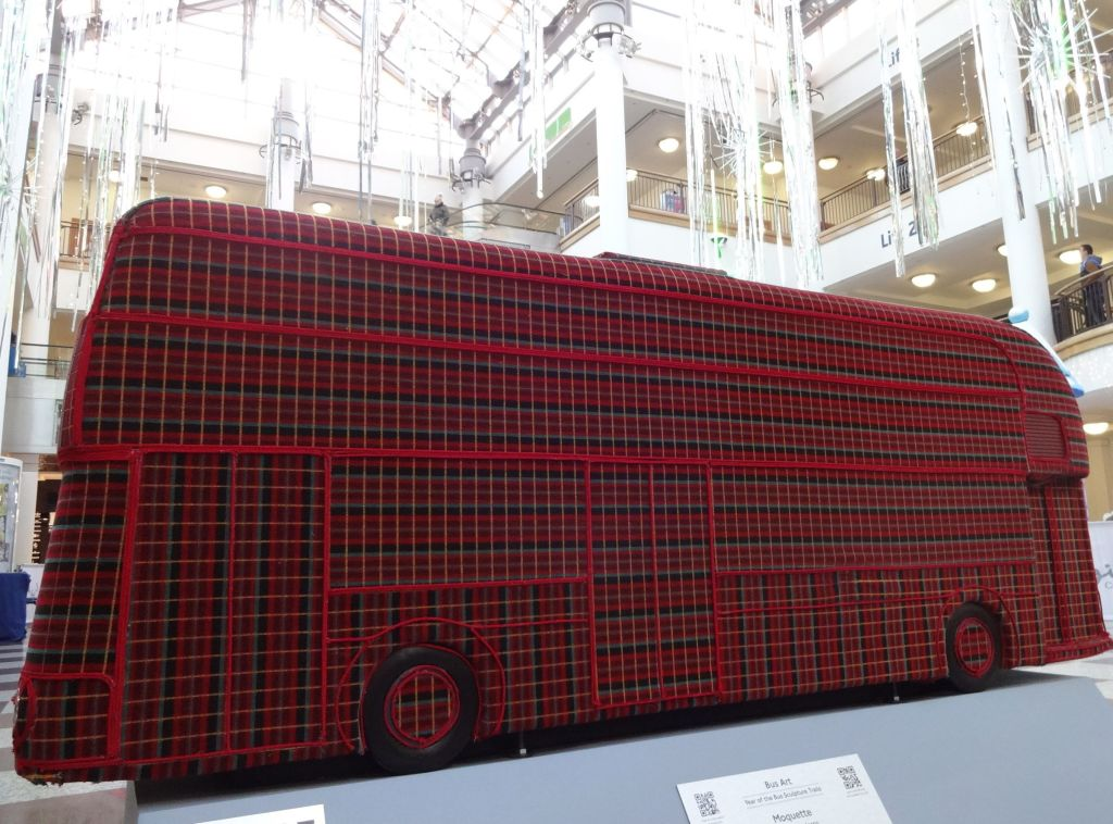 The most tactile 'Year of the Bus' sculpture of the lot (I kept going back to stroke it)