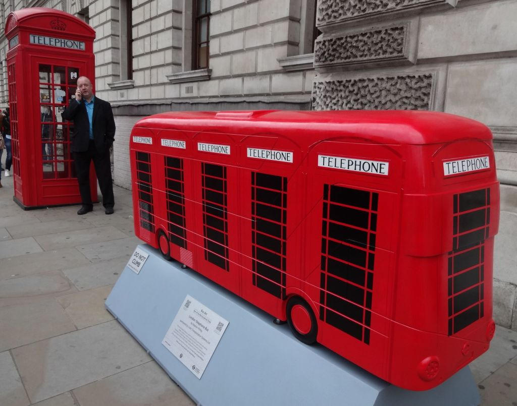 All those gorgeous telephone boxes to hand, but thanks to the mobile phone revolution he is in need of none of them anymore