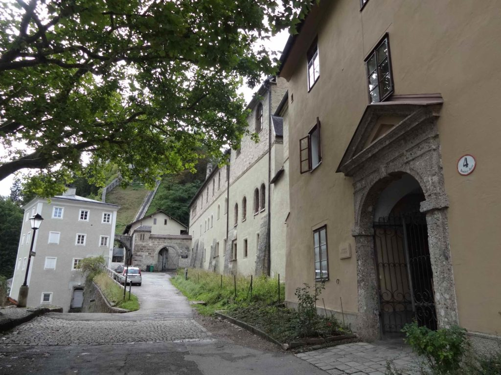 The real nunnery where Maria had intended to become a nun was used in the film