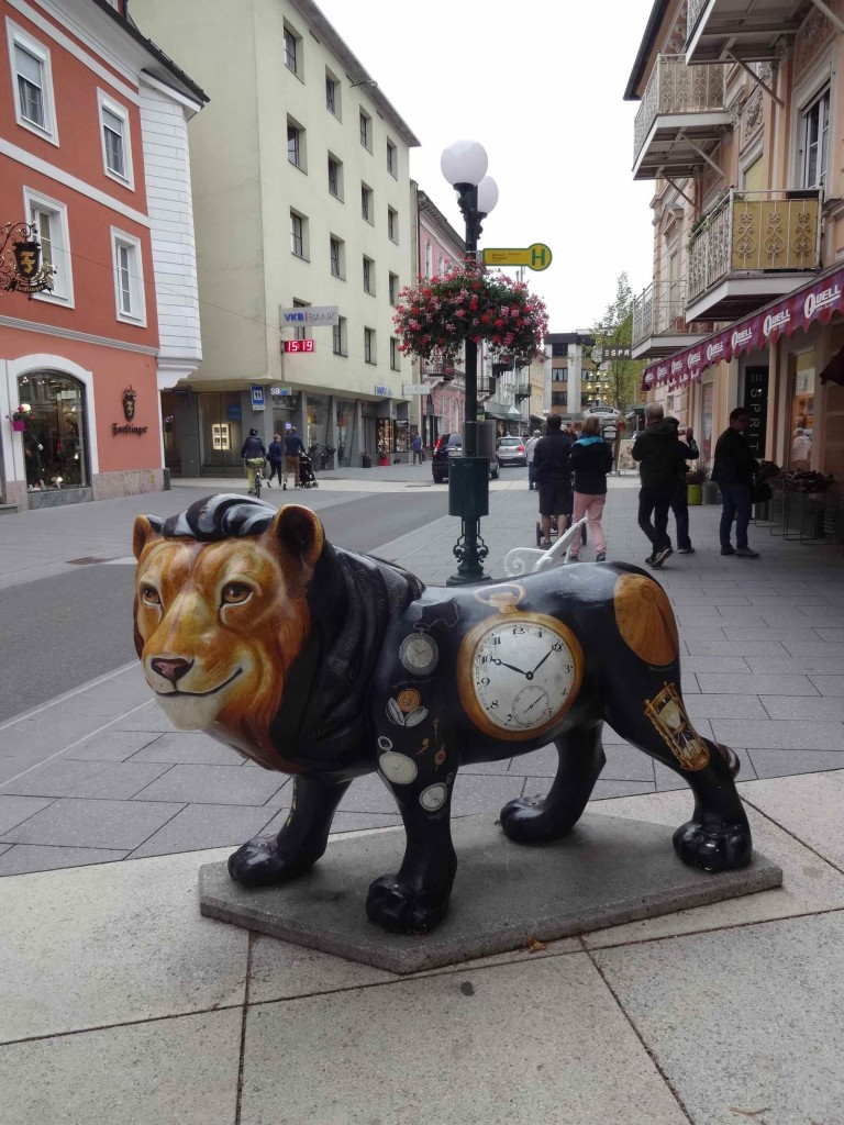 ...but at least three lions can be found roaming around Bad Ischl
