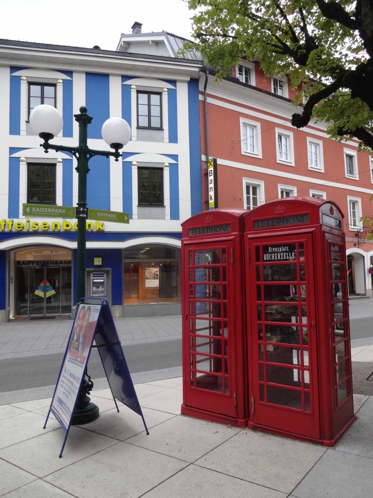 I travelled all the way from London to the Salzkammergut for a taste of traditional Austrian culture, only to come across a set of British red telephone boxes!