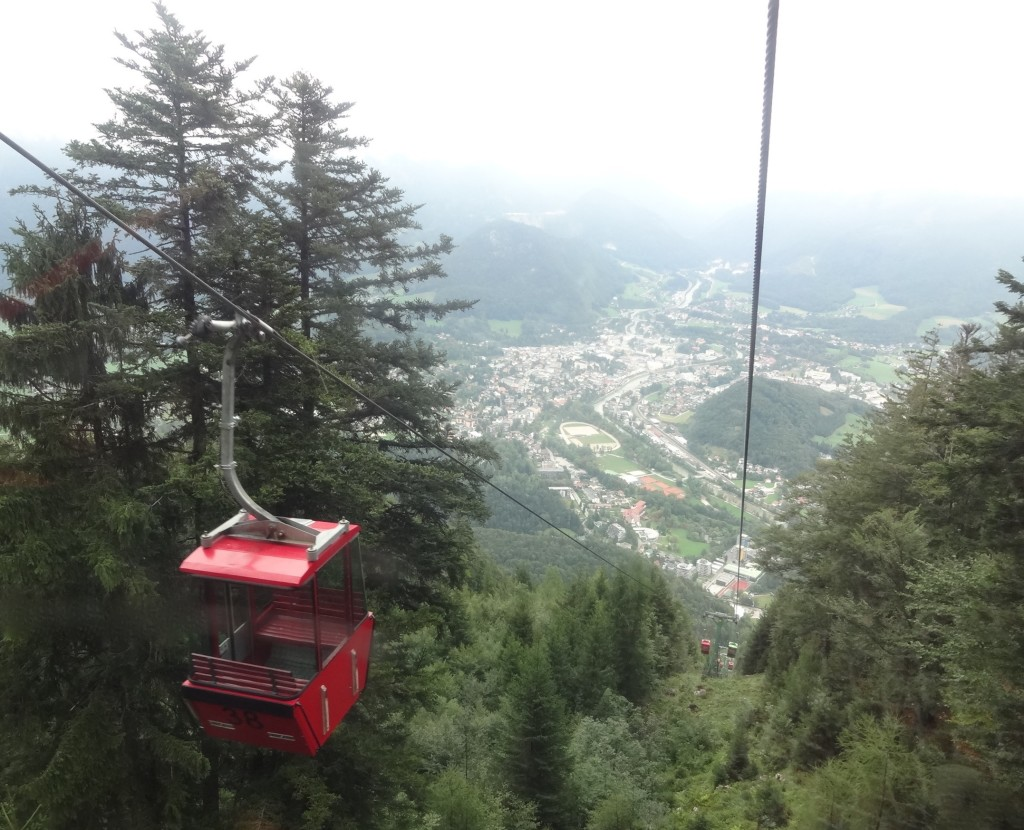 Below the mist line I could finally see the handsome town of Bad Ischl