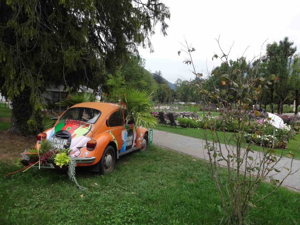 2015 was not so much the Summer of Love but the Summer of Garden Festivals for Bad Ischl. Amongst several specially designed horticultural features for the town's festival, was this one