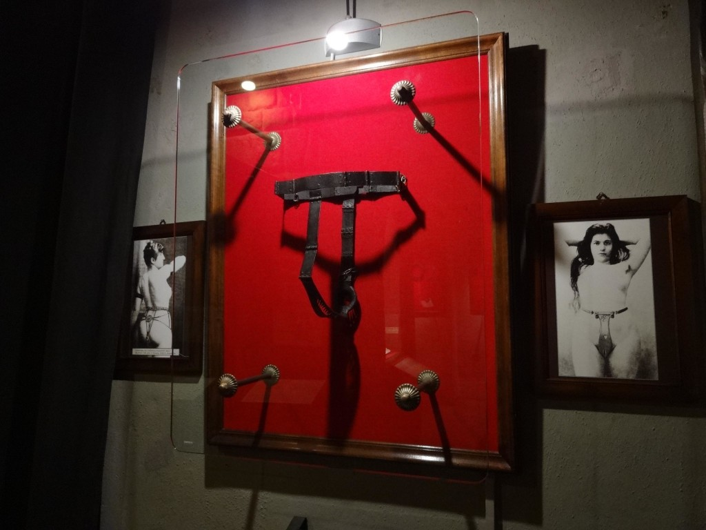 No torture museum would be complete without a chastity belt on display. It is wrongly believed these belts were used as a form of torture. In medieval times, noble women who wore such 'belts' often chose to do so as a form of rape deterrent whilst their husbands were away in battle