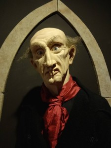 I couldn't work out whether this was supposed to be Nosferatu or legendary comedian Ken Dodd: Diddy scare me? Diddy hell!
