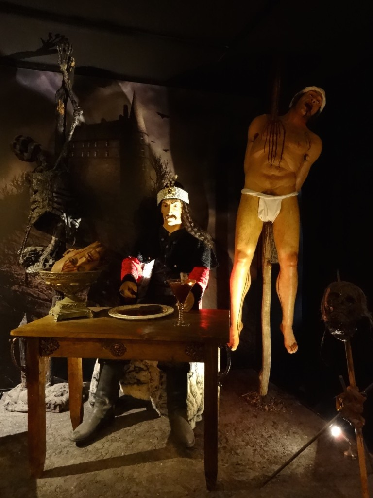 With everything labelled in Italian only, the museum experience was like playing a sinister version of 'Guess Who'. I may have been wrong here but I had a feeling that the figure sitting at the table was supposed to be Vlad the Impaler