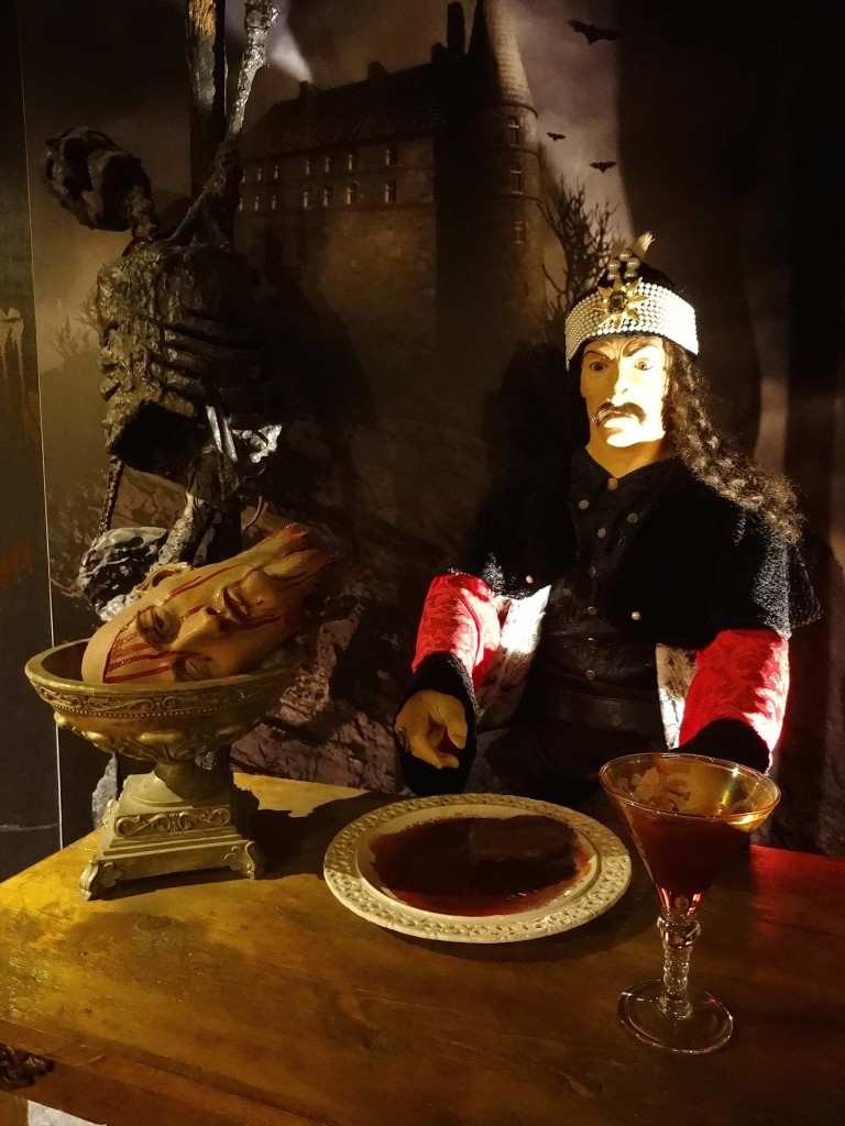 Vlad sitting at the 'head' of the table