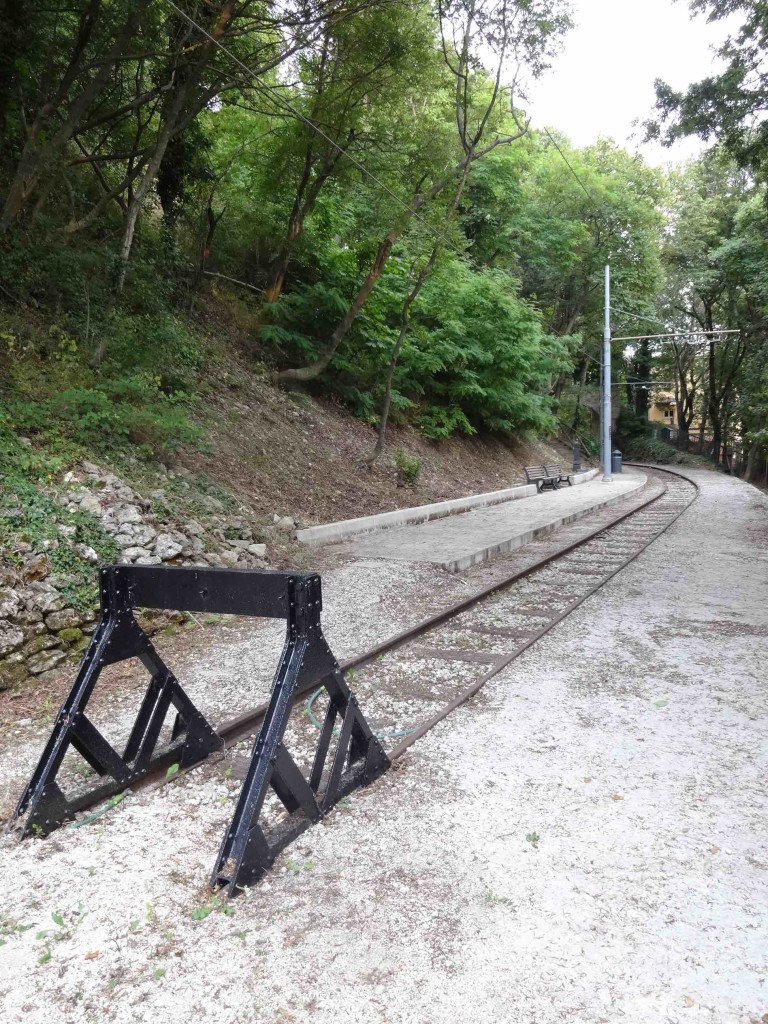 Is this a mirage or does San Marino have a secret railway line?