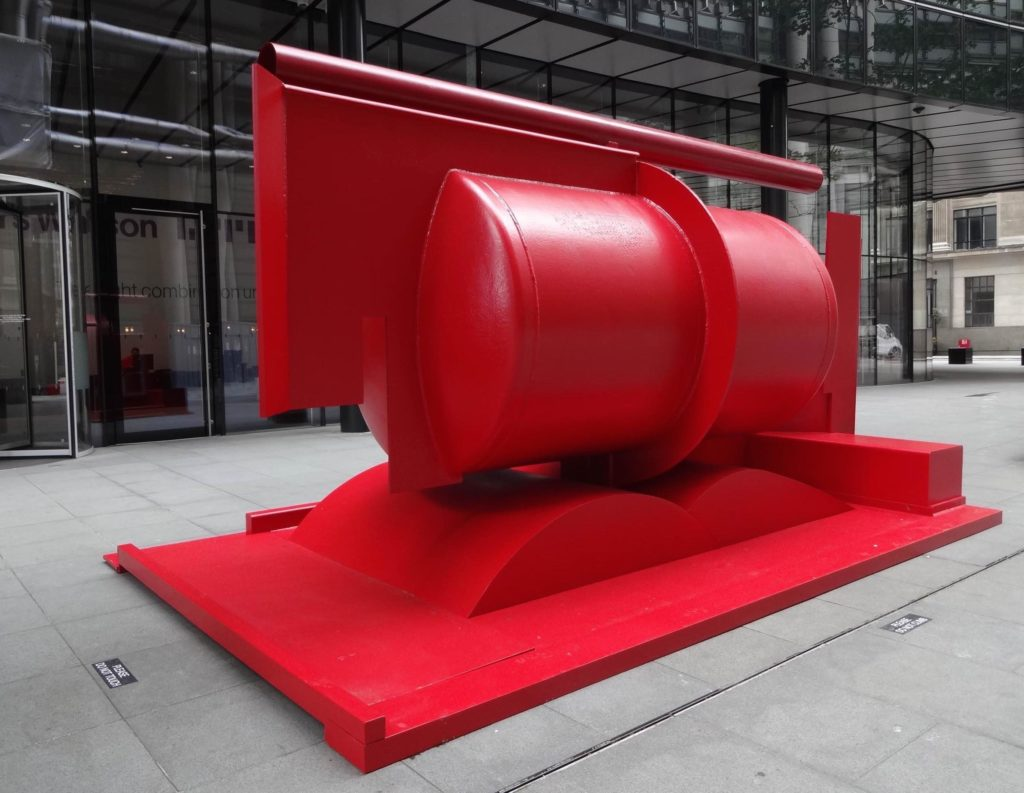 Sculpture in the City London 2016, Anthony Caro, Aurora, Lime Street