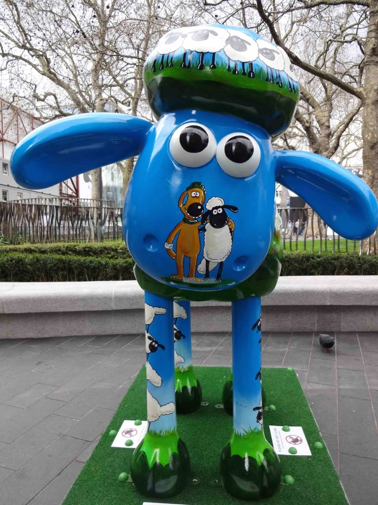 Shaun the Sheep has a dog for a nose. How does he smell? (Ah, no ... that's a different joke)