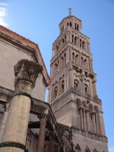 Split Diocletian's Palace, Belfry from behind