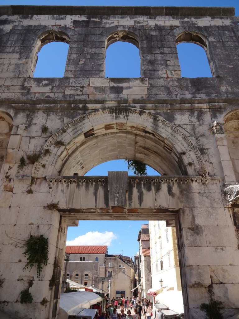 Split Diocletian's Palace, Silver Gate outer side