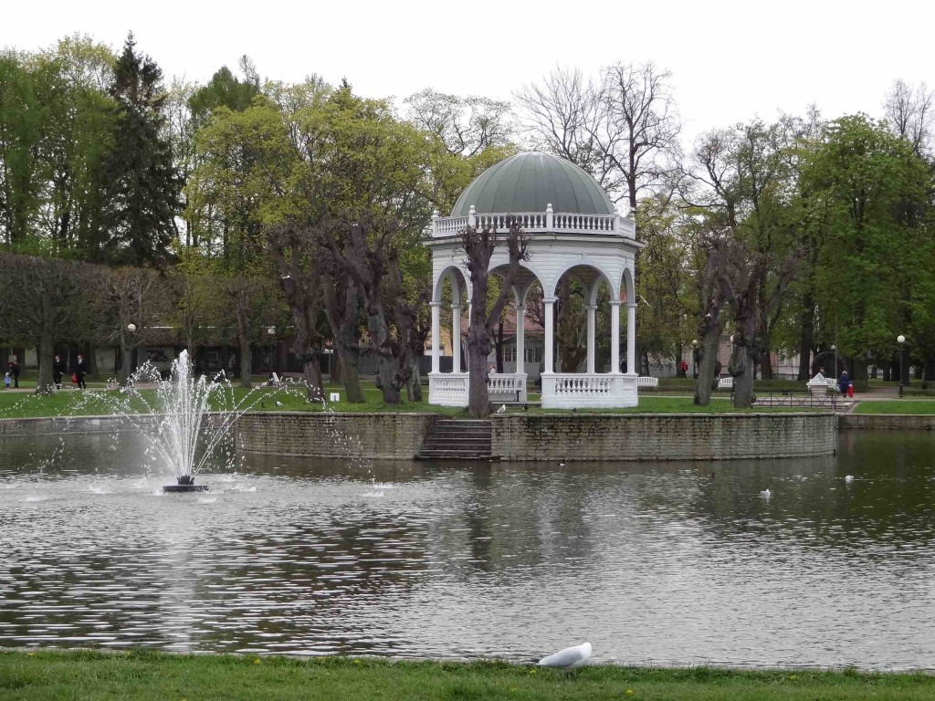The tranquil park of Kadriorg (long, contented sigh)