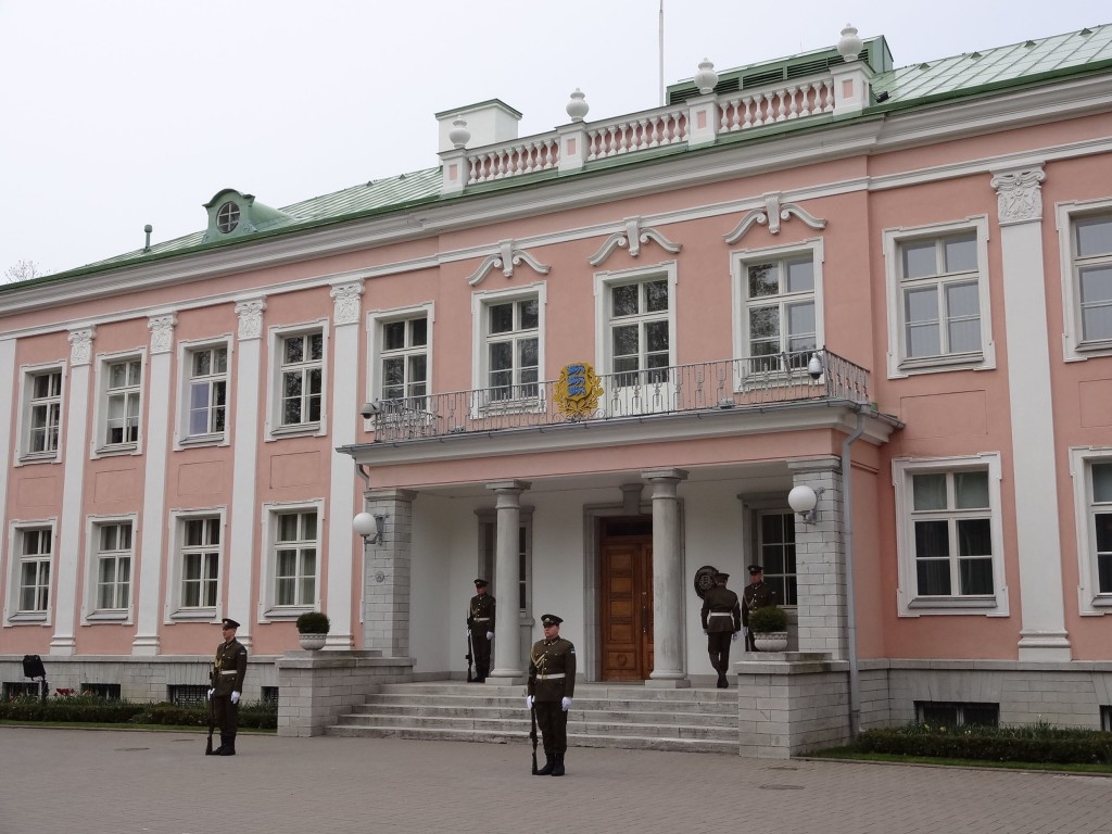 The Presidential Palace. More 'Pink House' than White House