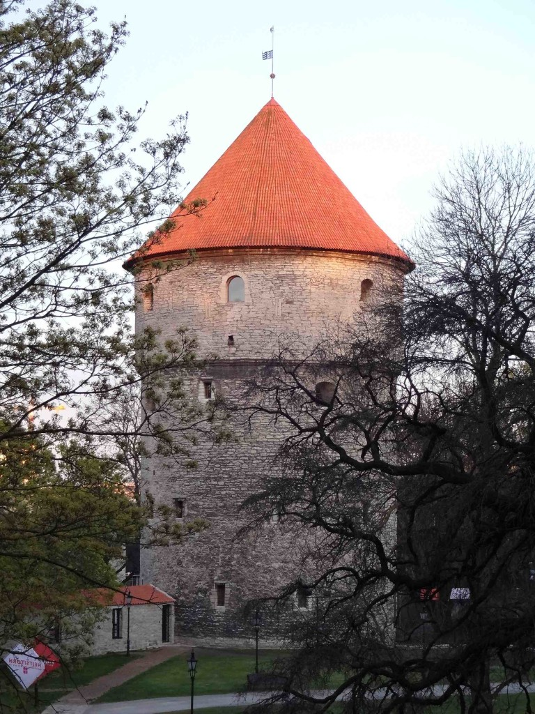 The Kiek in de Kök (stop sniggering, it means 'Peep in the Kitchen', given the name because watchmen on its upper floors could spy on the goings-on in the houses below). One of Tallinn's few remaining medieval cannon towers with nine of Ivan the Terrible's cannon balls fired at the tower during the Livonian War, still embedded in its walls five hundred years later