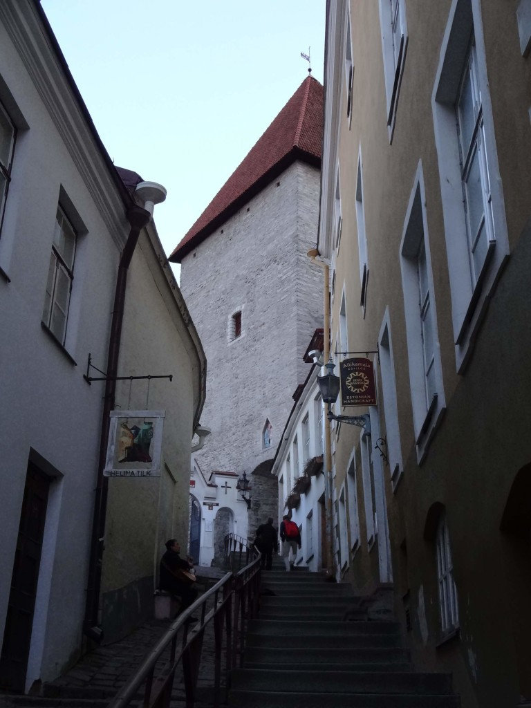 These steep steps leading up to the Short Leg Gate Tower above are lethal! They are so smooth from hundreds of years of footfall, I slipped on them twice