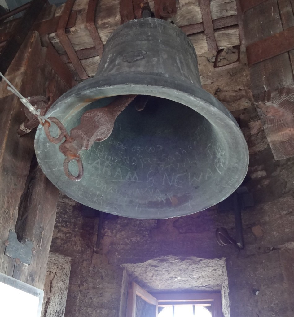 I do hope that six hundred year old bell is secure