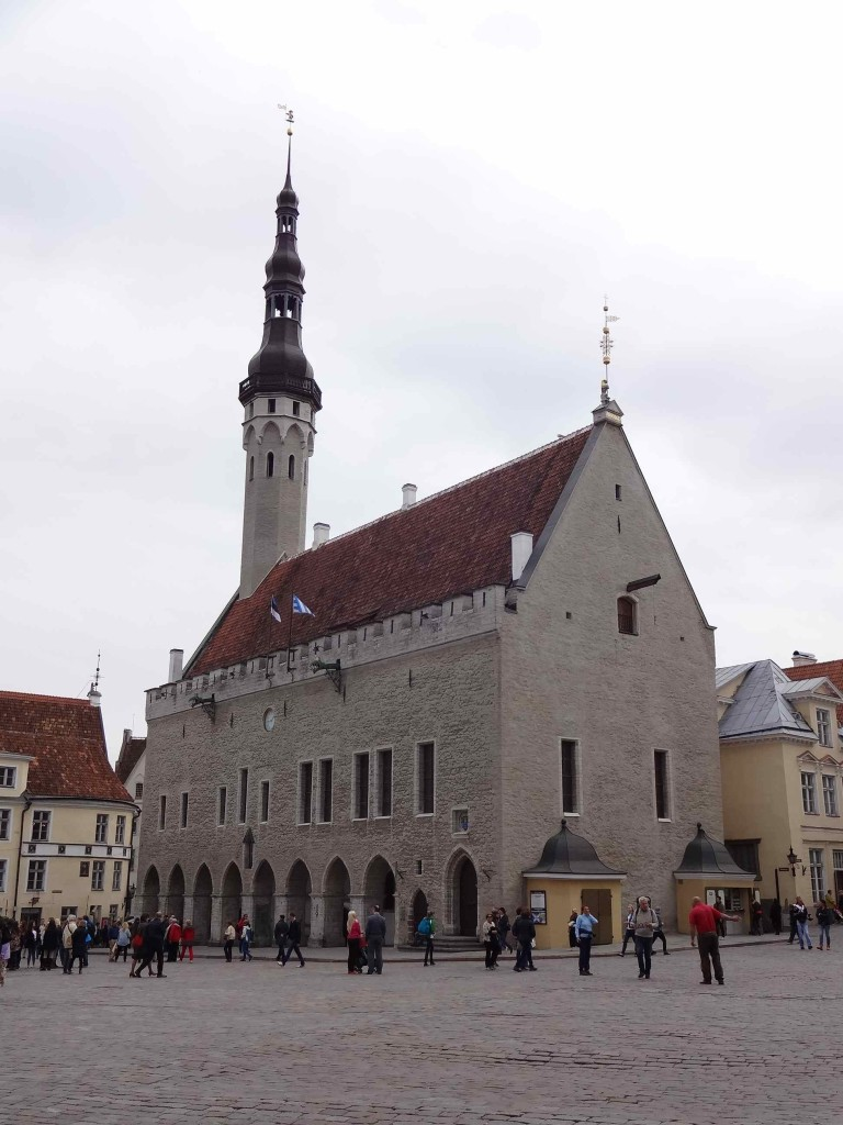 Tallinn's beautifully preserved Old Town Hall, 600 years young