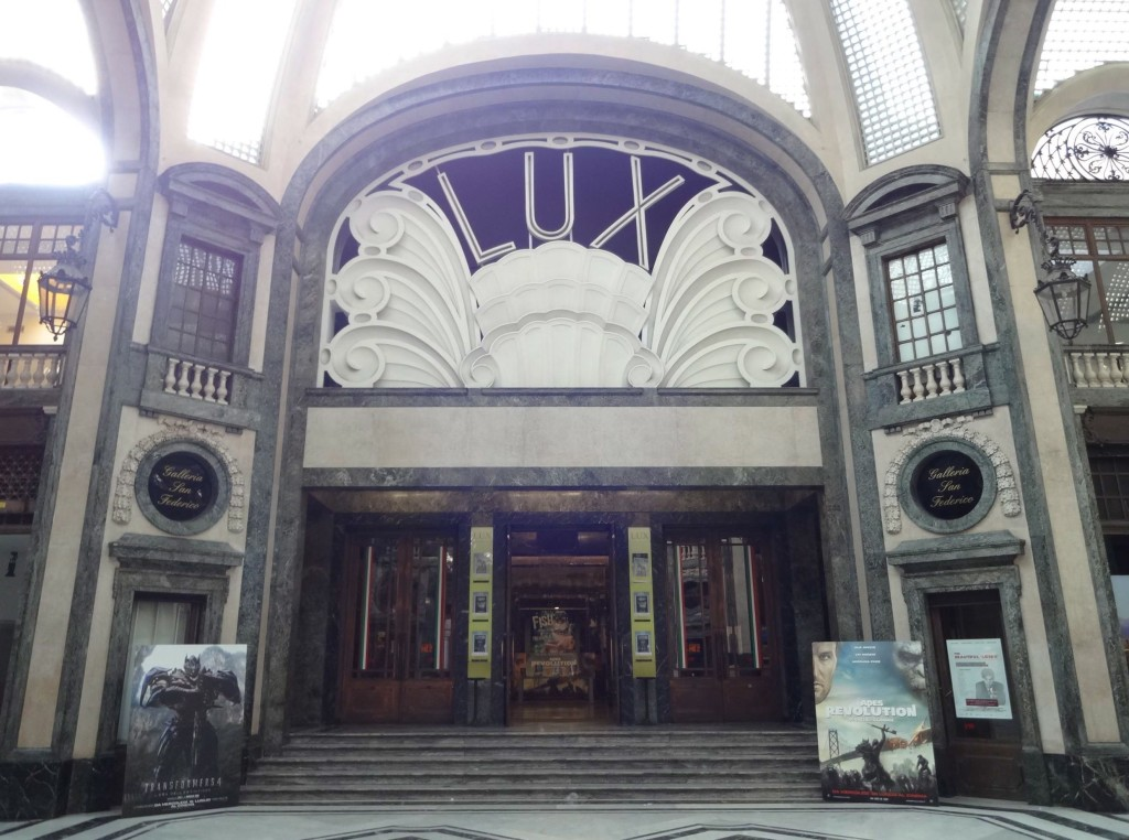 Baroque and Art Nouveau sitting comfortably together. I wonder whether The Italian Job was ever shown in the Galleria's Lux cinema