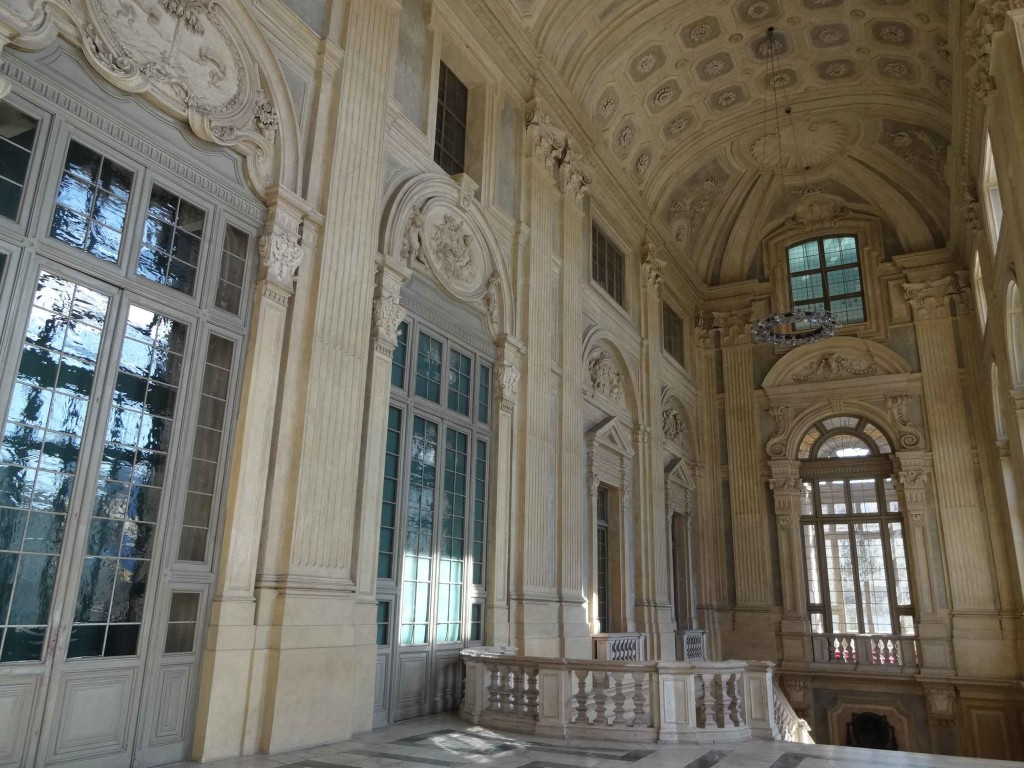 Originally a royal palace and later a prison, military barracks, supreme court and location for a fictitious bullion getaway, the Palazzo Madama is now home to the Civic Museum of Ancient Art. Although there is an entrance fee to the museum, staff are happy for Italian Job fans (like myself) to wander freely along the stairway ...