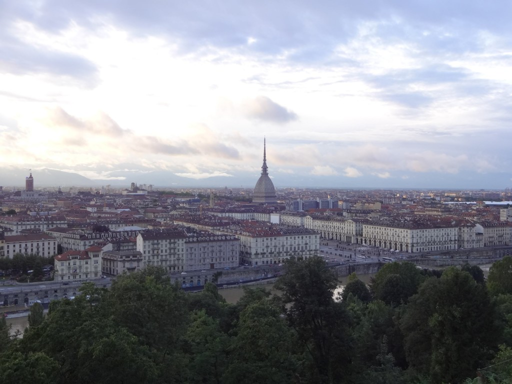 One of the best views over Turin from the top of the Mount of the Capuchins