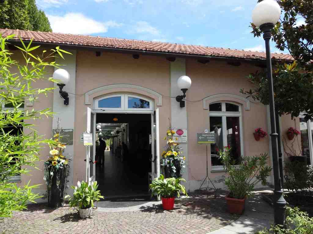 The quaint entrance to Sassi station and museum