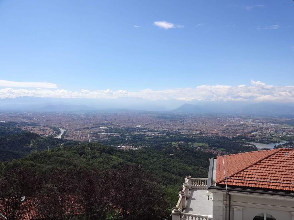 Turin and the Alps beyond