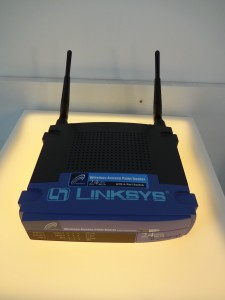 Zagreb Croatia, things to see and do in Zagreb, Museum of Broken Relationships, Cirilometodska, Linksys router close up