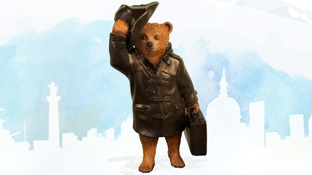 Paddington Goes to Whitby Goth by Harland Miller. Image courtesy of © visitlondon.com