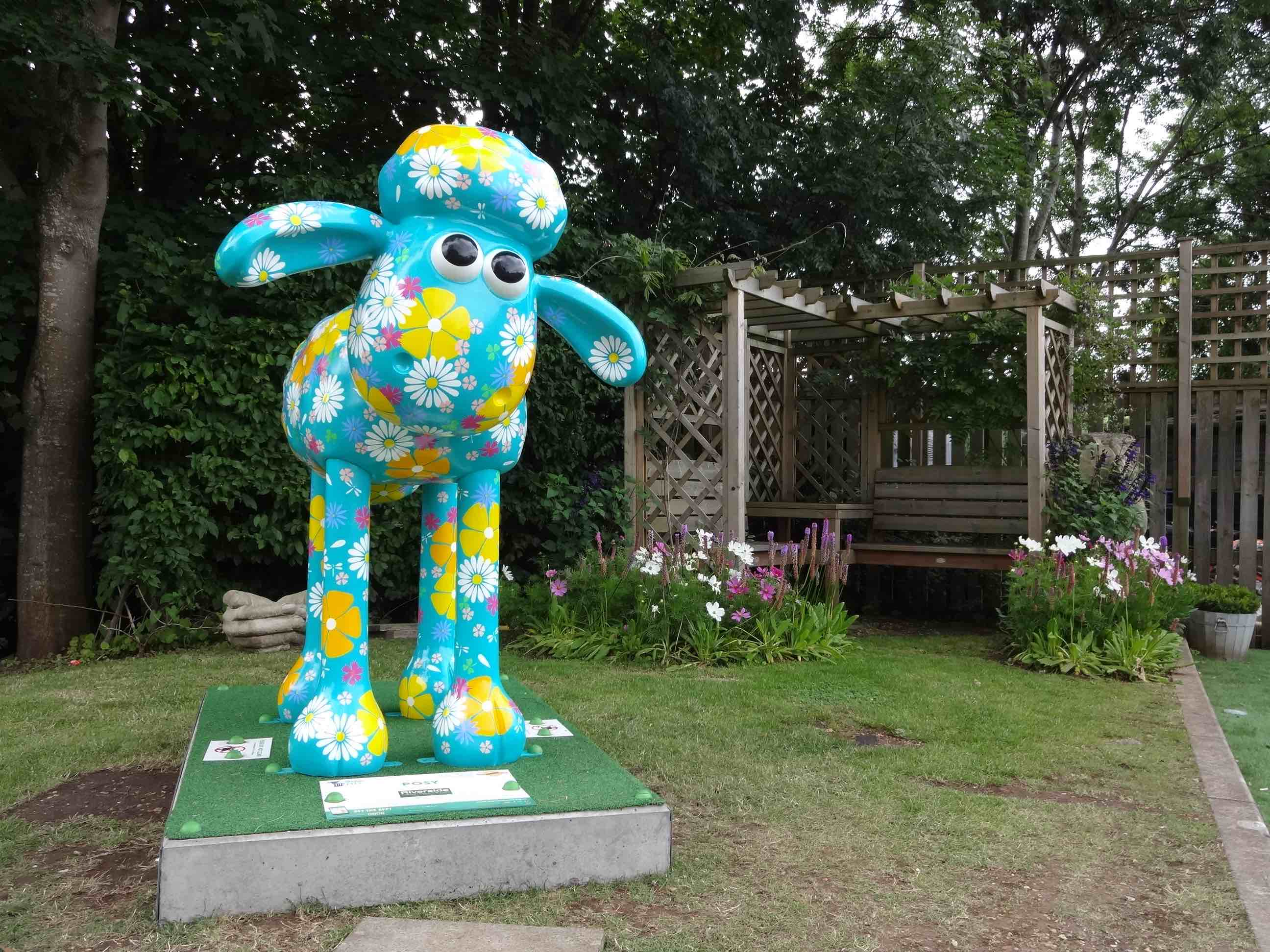 Bristol Shaun In The City Southbank Trail Posy Gabrielle Ruffle Riverside Garden Centre Clift House Road The Lady Travels