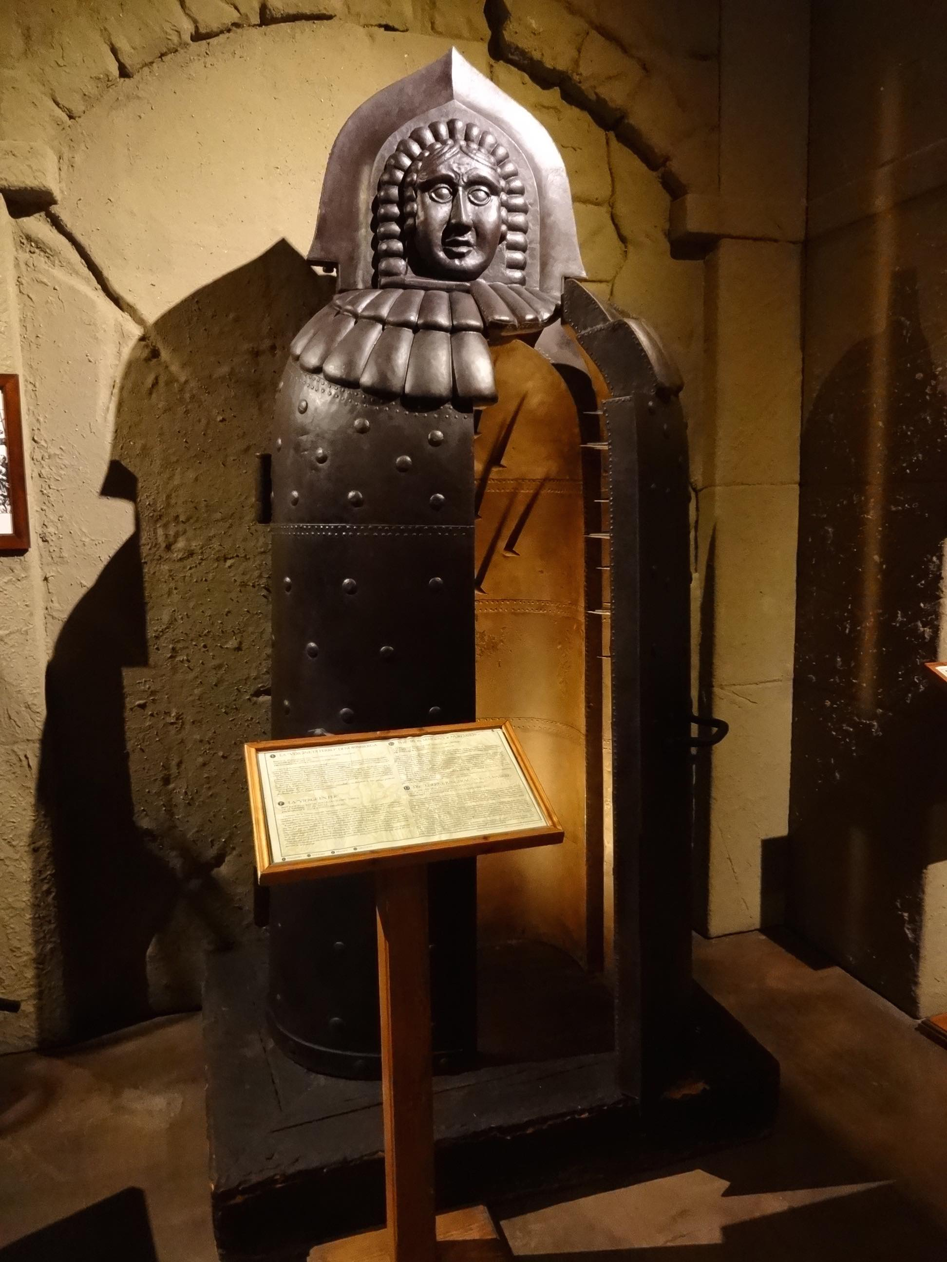 Iron Maiden Device in a Museum